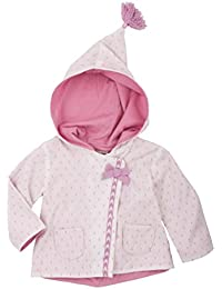 Hatley Baby Girls' Button up Hoodie