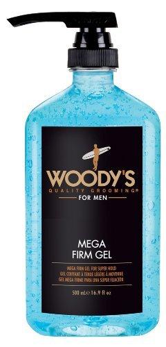Woodys Woodys Mega Firm With Free Pump 16.9 Oz, 16.9 Oz