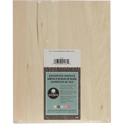 Walnut Hollow Basswood Rectangle Panel ()
