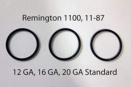 HAKATOP O-Ring Barrel Gas Seals for Remington 1100 12 GA 1187 11-87 12 Gauge(Pack of ()