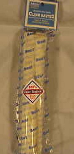 PET FACTORY 949028 Usa Clear Beef Roll Rawhide Chews for Dogs, 10-Inch, My Pet Supplies