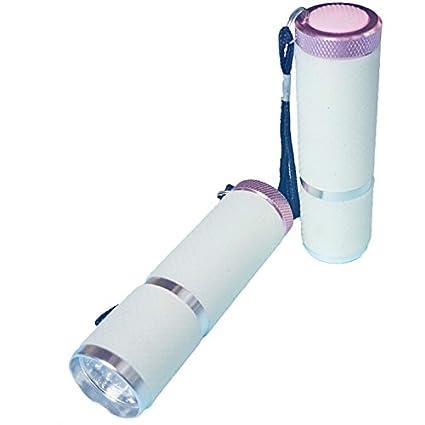 Mini LED Linterna UV Gel Nail lámpara secador de uñas para uñas (9 x 2.5