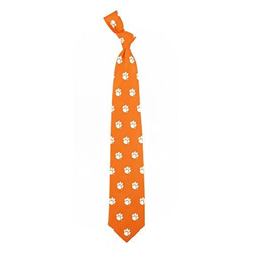 Clemson Prep Silk Necktie by Eagles Wings