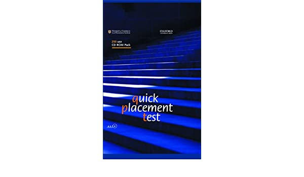 Amazon com: Quick Placement Test: 250 user CD-ROM Pack(Revised