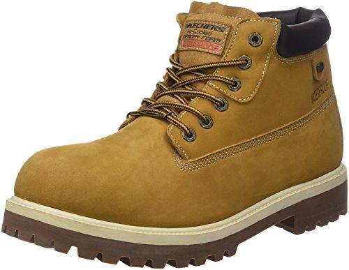 Skechers Men's Sergeants - Verdict Fashion Boot, WTG, 9 Wide US by Skechers
