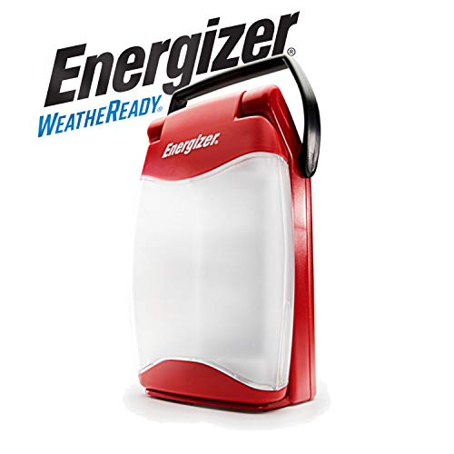 Energizer Waterproof LED Lantern, Weatheready Folding Light, 350 Hour Run Time, 500 Lumens