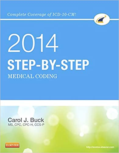 Step By Step Medical Coding 2014 Edition 9781455746354