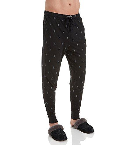 - Polo Ralph Lauren Knit Jogger Lounge Pant, M, Polo Black