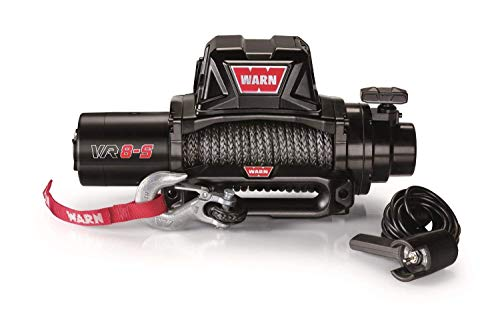 WARN 96805 8000 lb. VR8-S Winch (w/ Synthetic Rope)