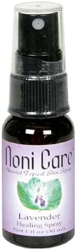 Noni Care Natural Topical Skin Spray, Lavender, 1-Ounce Bottles (Pack of 3)