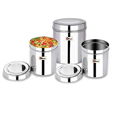 Ebun-Stainless-Steel-Container-Set-for-Kitchen-Airtight-Heavy-Gauge-Steel-Dabba-Small-Size-Set-of-3-Mirror-Polish