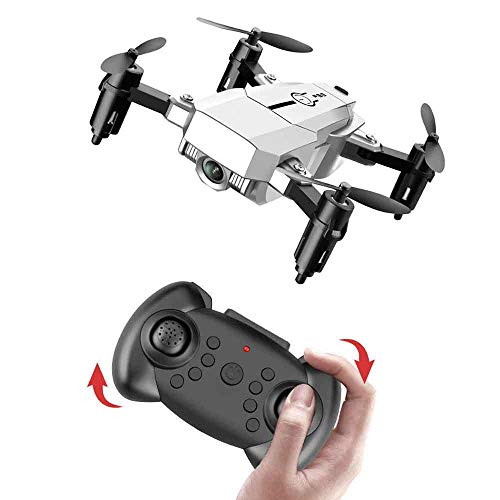 Yxs Foldable Drone with 5 Million Pixels Camera, Gravity Sensor Control, FPV Live Video Quadcopter for Adults and Kids…
