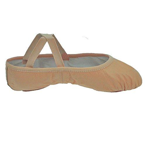 Así Danca SD60 estiramiento del ballet del cuero de zapatos
