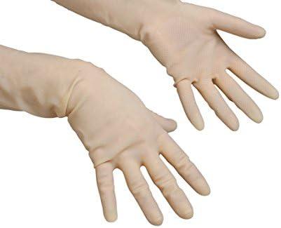 8.5-9 De guantes de l/átex Vileda la altura de la rodilla de lanzado delicadas y L de l/átex-guantes de trabajo Gr.Gr ligero