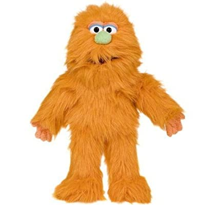 ''Monster'', 14In Monster Puppet, Orange -Affordable Gift for your Little One! Item #DSPU-SP3005D: Toys & Games