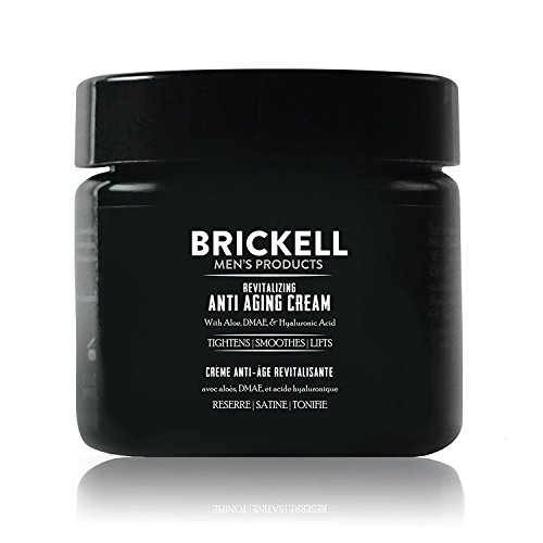 Brickell Men's Revitalizing Anti-Aging Cream For Men, Natural and Organic Anti Wrinkle Night Face Cream To Reduce Fine Lines and Wrinkles, 2 Ounce, Unscented (Best Anti Aging Body Products)