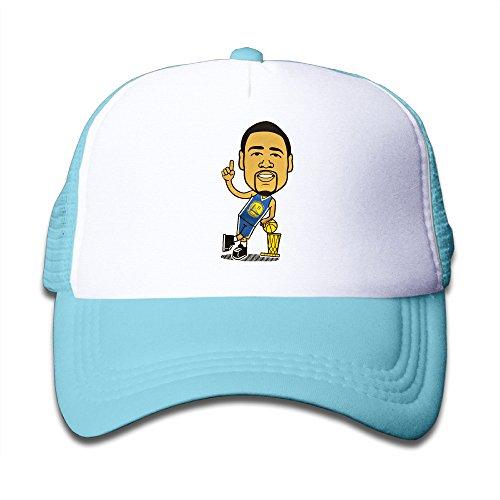 For Little Kids Vintage Klay Thompson Basketball Player Mesh Trucker Hat]()
