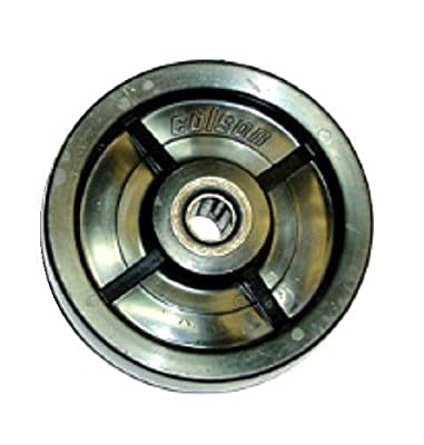 """Colson Solid Polyolefin 5"""" x 1-1/2"""" Wheel with 5/8"""" ID Roller Bearing 700# Cap"""