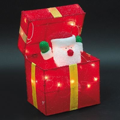 Animated Santa Gift Box (Animated Scene Christmas)