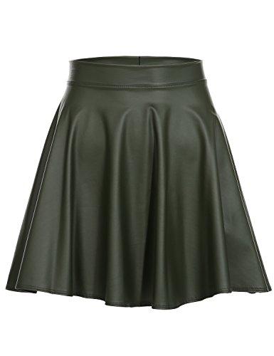 Olive Mini Skirt - 7