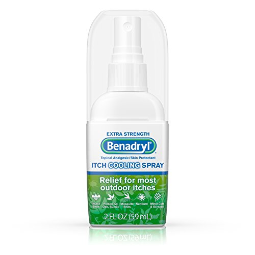 Benadryl Itch Relief Spray Extra Strength 2 oz (Pack of 3)