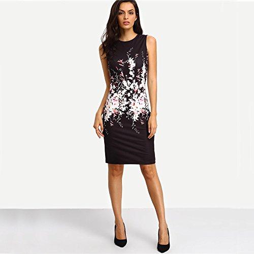 Carolina Dress Vestidos De Fiesta Sexys Cortos Casuales Ropa De Moda Para Mujer De Noche Elegantes Negros at Amazon Womens Clothing store: