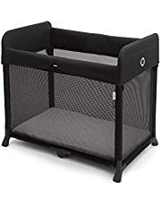 Bugaboo Stardust Play Yard - Portable Indoor and Outdoor - Foldable On the Go Play Yard - 1 Second Unfold (Black)