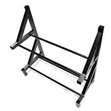 Integy RC Model Hop-ups C26750BLACK Wheel & Tire Storage Rack 19x8x17.5 Inch for 1/8 & 1/5 Scale