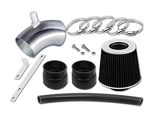 Velocity Concepts Black Short Ram Air Intake Kit + Filter For 06-08 Hyundai Sonata 3.3L - Sonatas Short