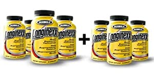Longinexx - Male Enhancement Supplement - 420 Capsules - 7 Month Supply by Boulder Supplements