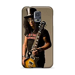 RudyPugh Samsung Galaxy S5 Great Hard Cell-phone Case Custom HD Guns N Roses Pictures [gDZ5841EeVe]