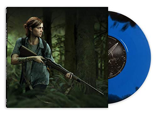 Music from The Last of Us Part 2 (7-Inch) Exclusive Blue vinyl w/ Black Swirl [vinyl] Crooked Still