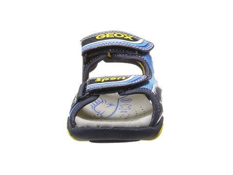 Geox - Sandalias de vestir de material sintético para niño turquesa - Türkis/Bunt