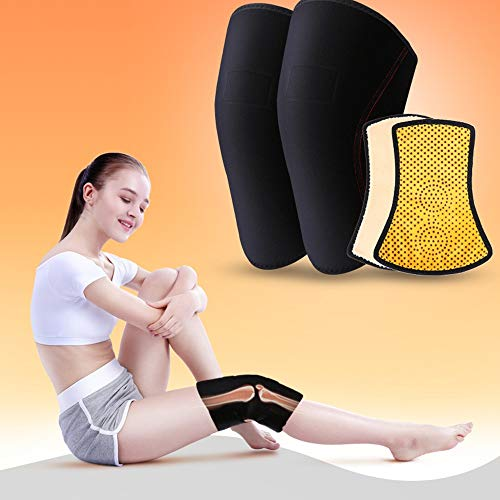 TY BEI Kneepad Warm Knee Pads Men and Women Self-Heating Thickening Joint Knee Support - Size Two Size Optional @@ (Size : Small) by TY BEI (Image #1)