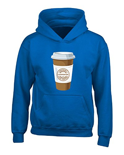 Instant Carpenter Just Add Coffee Carpenter Gift - Adult Hoodie 3XL Royal