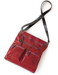 Shiraleah Harper Cross-Body Daypack, Pomegranate