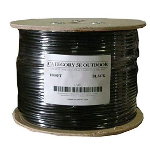 Cat5 e Outdoor Underground Burial Cable Wire Waterproof UV Thick Copper 200ft