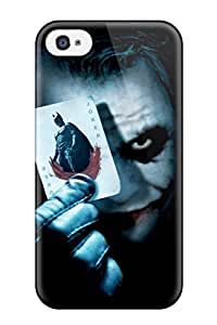 5774463K13438733 JeremyRussellVargas Perfect Tpu Case For Iphone 4/4s/ Anti-scratch Protector Case (the Joker)