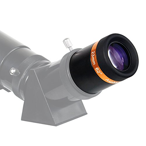 A telescope with the eyepiece attached.