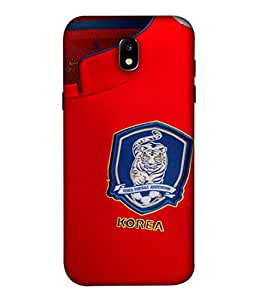 ColorKing Football South Korea 03 Red shell case cover for Samsung J5 Pro 2017