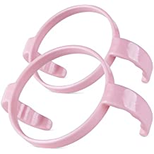 Compatible Bottle Handle for Comotomo, (Pack of 2, Pink)