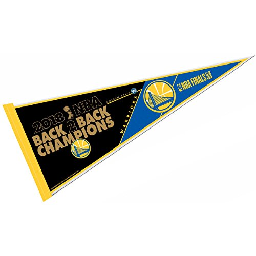Rico Industries Golden State Warriors 2018 NBA Champions Pennant and 12 X 30 Banner