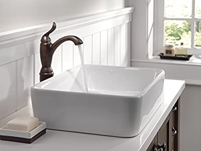 Delta Faucet Dryden 2-Handle Centerset Bathroom Faucet with Diamond Seal Technology and Metal Drain Assembly