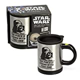Official Star Wars Darth Vader Self-Stirring Feel The Force Coffee Mug - Boxed