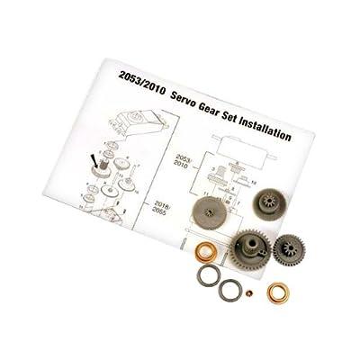 Traxxas 2053 Servo Gears for 2055 Servo: Toys & Games