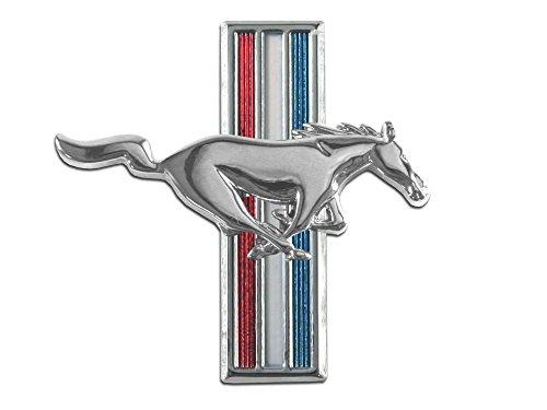 (Mustang Fender Emblem Running Horse RH 1964 1/2 - 1968)