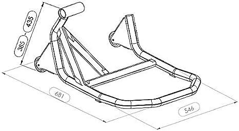Einarm Montageständer Hinterrad Kompatibel Für Ktm 1290 Super Duke Gt 16 21 V5 Schwarz Auto
