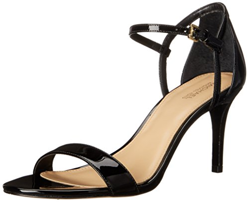 - Michael Michael Kors Women's Simone Mid Sandals, Black, 8 B(M) US