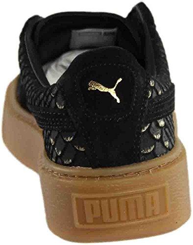 Gold Sneakers PUMA Black Platform Women's Puma q8x8w4ag
