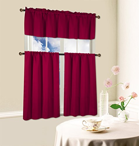 Top 5 Best Kitchen Curtains In Red For Sale 2017